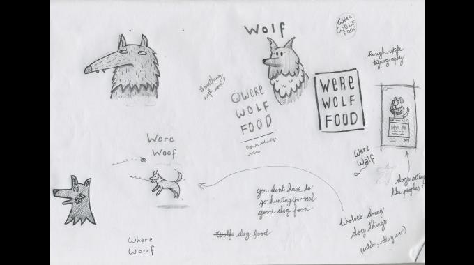 Werewolf Food Brand Paperjam Design